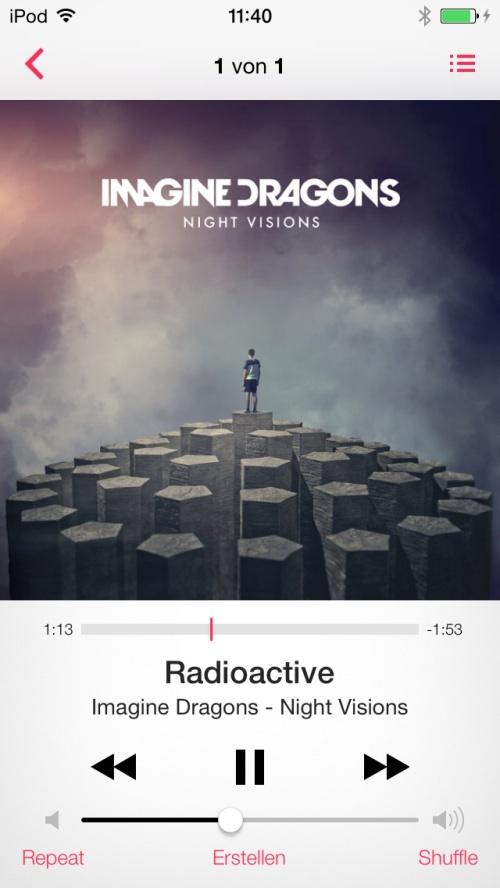 iOS7 Music App