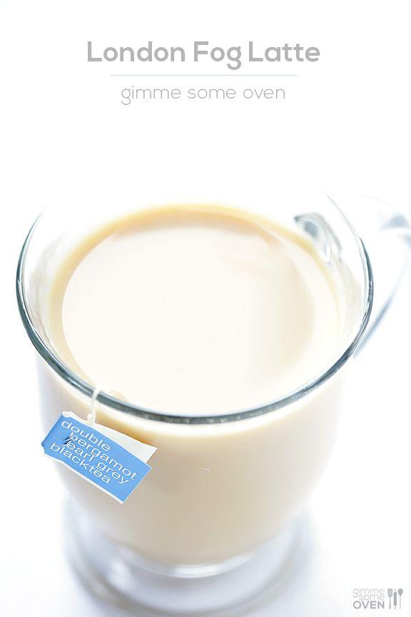 DIY London Fog Tea Latte  | gimmesomeoven.com