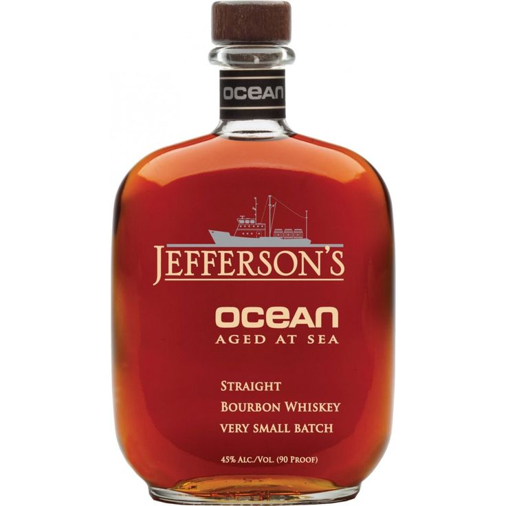 Intriguing idea for an experiment. But I think I'd like to taste a dram before shelling out $100+ for the 750 ml bottle of Jefferson's Ocean Aged at Sea Kentucky Straight Bourbon (no age statement).