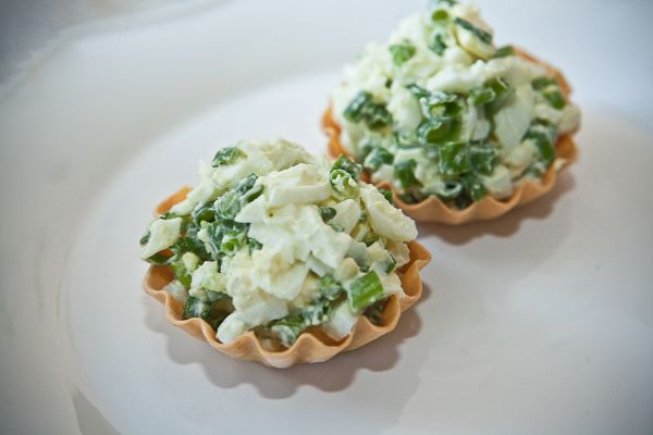 Egg Salad in Tartlets