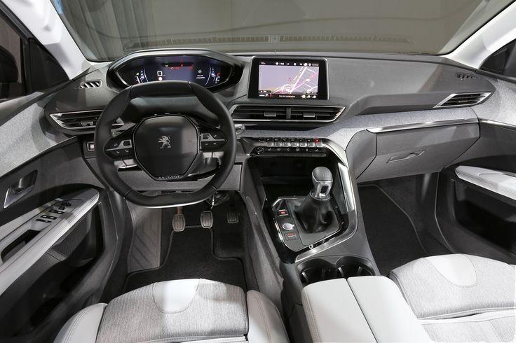 Planche de bord Peugeot 3008 2 2016