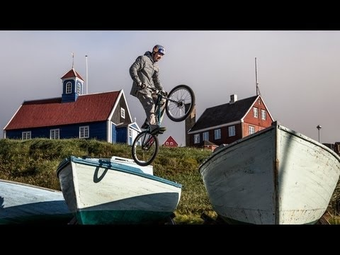 Czech trail bike rider, Petr Kraus visits Greenland looking for some urban riding adventures in the town of Sisimiut.