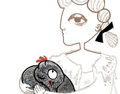 """Check out new work on my @Behance portfolio: """"The Black Hen/A.Pogorelsky""""…"""