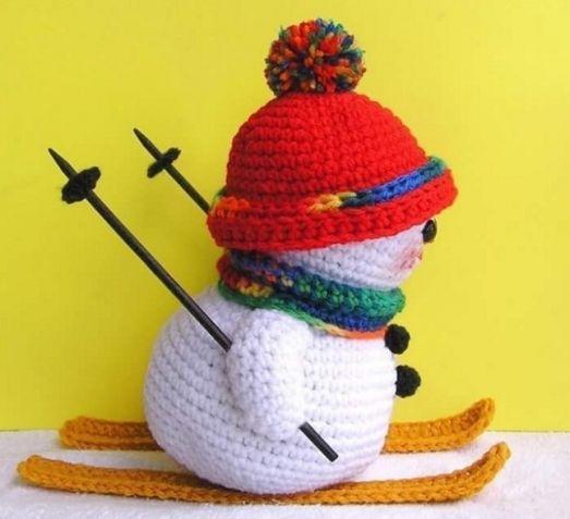 hombre de nieve adornos navidad