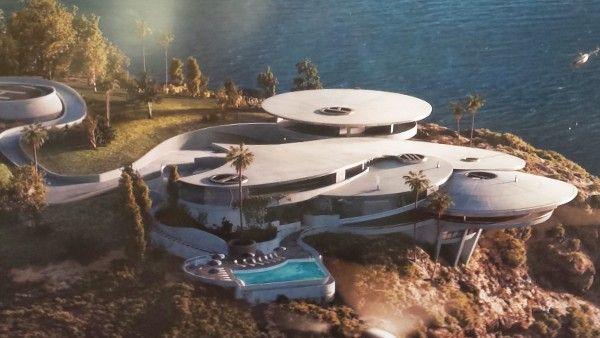 Iron Man (Jon Favreau, 2008)- Tony Stark's house