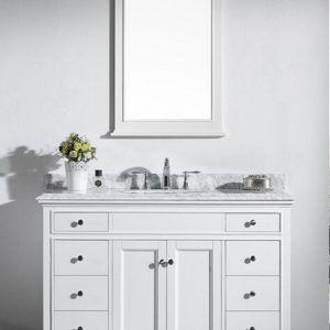 48 Bathroom Vanity With Marble Top