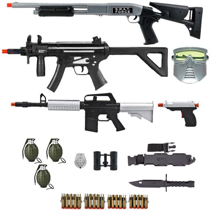 Kids-Army.com - Ultimate SWAT Dart Gun Combo, $39.99 (http://www.kids-army.com/toy-hand-grenades-set-of-3/)
