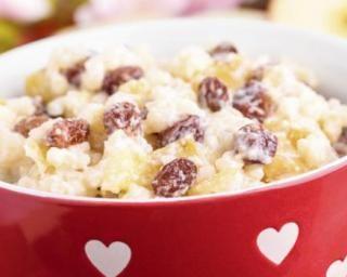 Riz au lait aux raisins secs spécial Cookeo