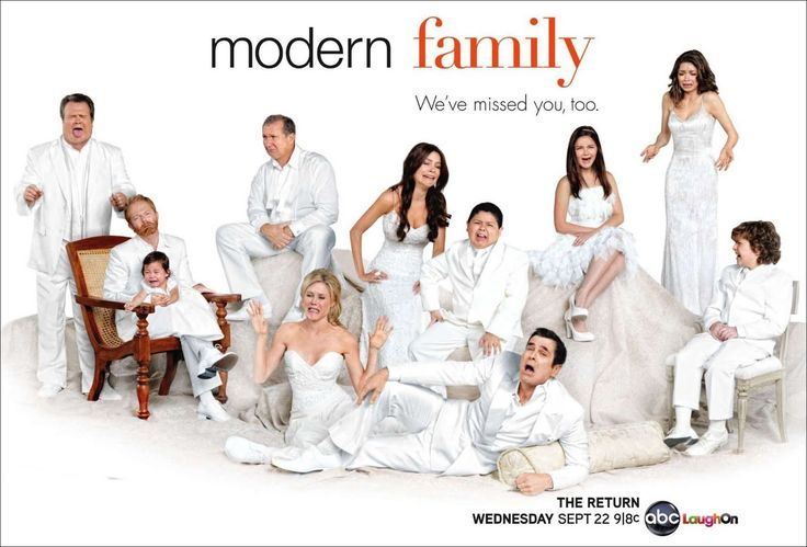 Modern Family  So much like our own blended nationwide family - MarkMillerITPro. Especially the traveling to Hawaii episode. Our nationwide family had 2008 Thanksgiving reunion San Fran area. Trip to family wedding in Guadalara Mexico and immediately to Thanksgiving Brainerd MN - wild.