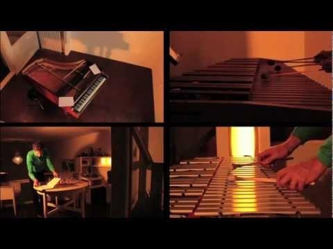 """Tschaikowski's Nutcracker """"Pas De Deux"""" by Sven Kacirek. Sound and Video Installation: 4 screens, 4 sensors, 4 speaker..."""