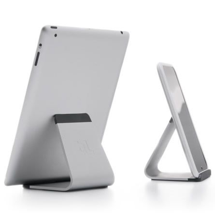 Mika is a universal tablet stand that is so simple and timeless, it can be used for the tablet or device you carry today, and tomorrow. With an ergonomic angle, Mika makes it easy to read, watch video