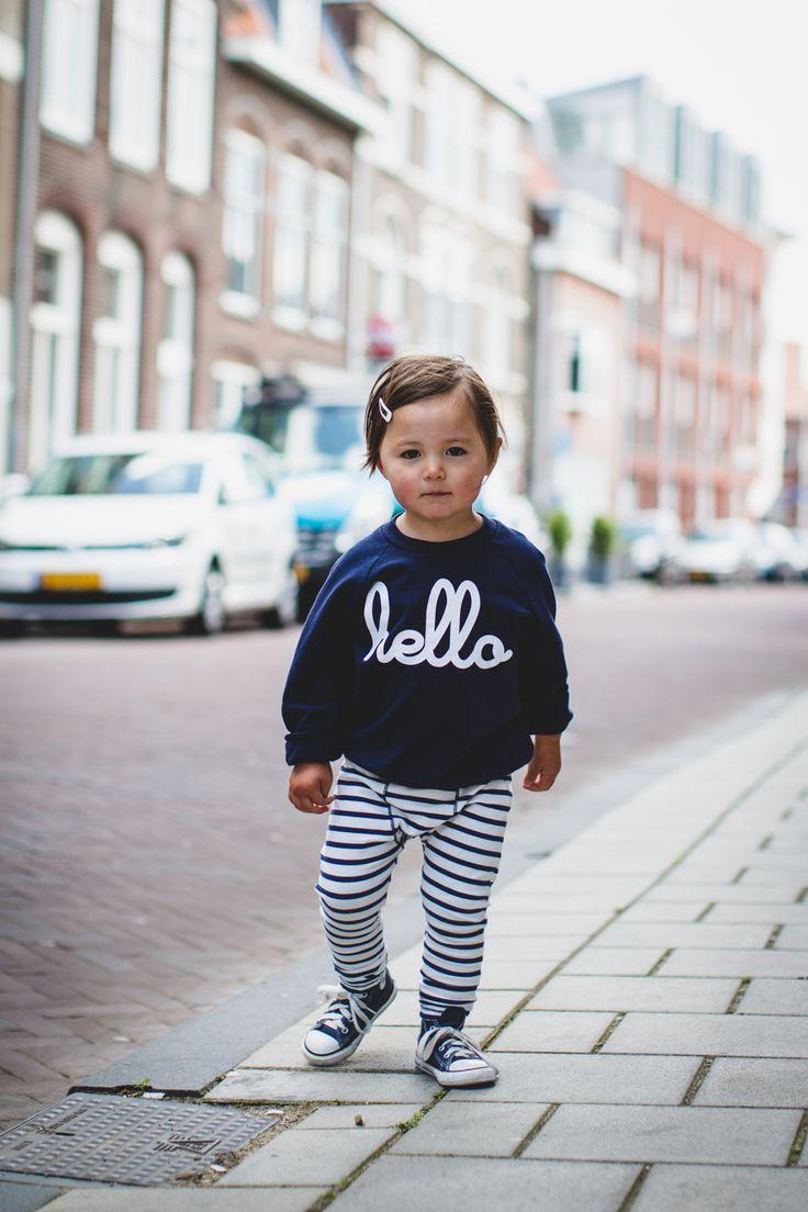 Kindermodeblog kids fashion mode kinderen meisjes trui hello american apparel