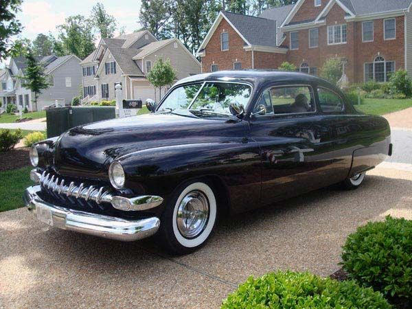 mercury coupe 19491951 arguably the most famous face of the