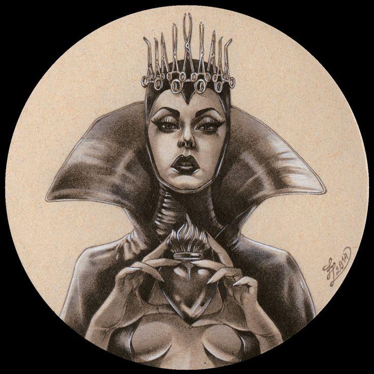 The queen by Zoe-Lacchei.deviantart.com on @DeviantArt