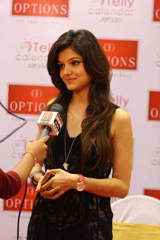Rubina Dilaik of Chhoti Bahu fame at the Options Fashion Mall. #Bollywood #Fashion #Style #Beauty