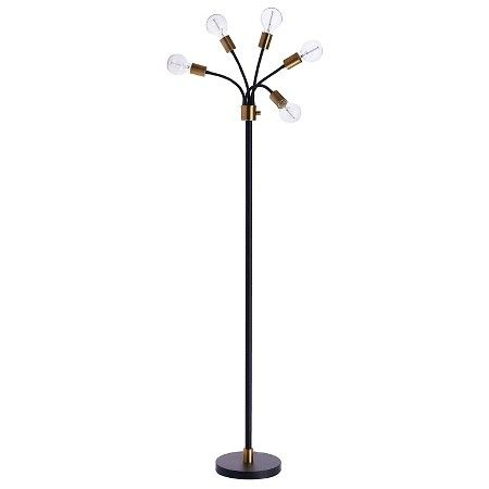 Exposed Bulb Multi-Head Floor Lamp - Threshold™ : Target