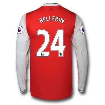 Arsenal 16-17 Hector Bellerin 24 Hemmatröja Långärmad   #Billiga  #fotbollströjor