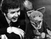 Basil Brush with Rodney Bewes....then there was Derek Fowlds and then Roy North!