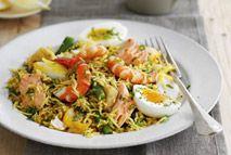 Mixed seafood kedgeree – Recipes – Slimming World