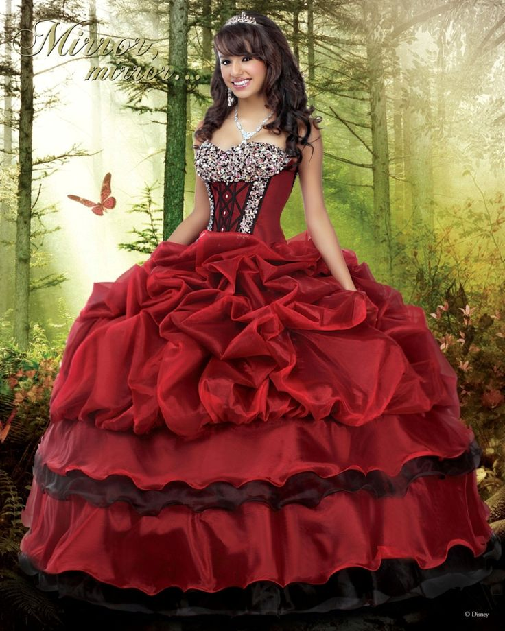 Disney Royal Ball Quinceanera Dress Snow White Style 41001