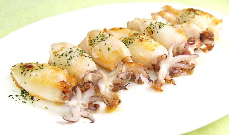 Chipirones a la Plancha | Calamares