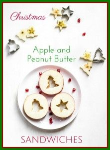 Healthy treat for toddlers at Christmas.