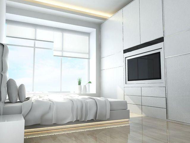 Best 25 built in dresser ideas on pinterest closet for Bed built into floor