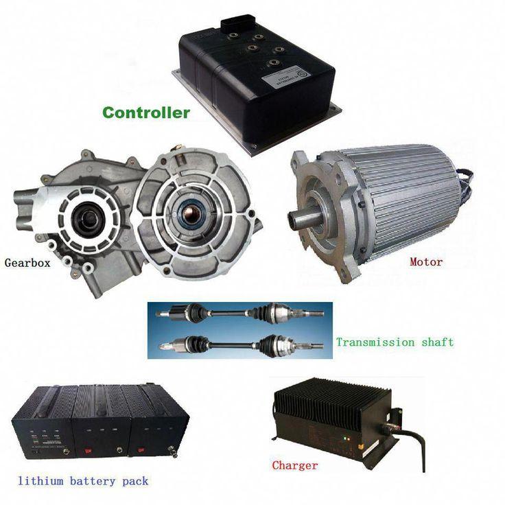 10KW Plugin Hybrid Cars Conversion Kits with Motor
