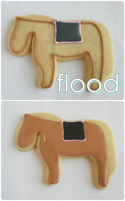 Receita de biscoito e glace   flood: Prior To, Biscoitos Decorados Tutorials, Decorating Tips Tricks, Cookie Tutorials, Decorated Cookies, Cookie Decorating, Cookies Tutorials