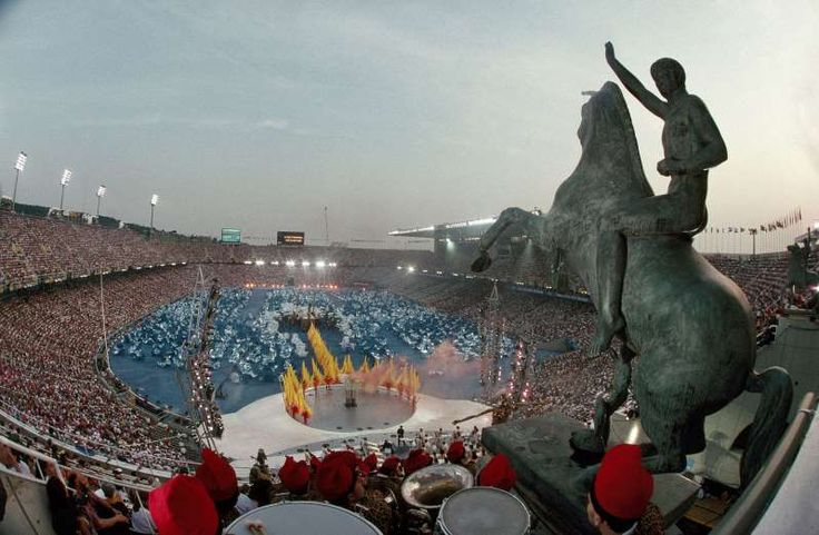 July 25,  1992: BARCELONA OLYMPICS BEGIN  -   Every member nation of the International Olympic Committee competed in the XXV Summer Olympics held in Spain. It was the first Games since 1972 that were unaffected by boycotts. Many former Soviet countries took part for the first time since 1936, and South Africa, which had been banned since 1960 for its apartheid policy, also featured. Post reunification, Germany sent a single team for the first time since 1964.