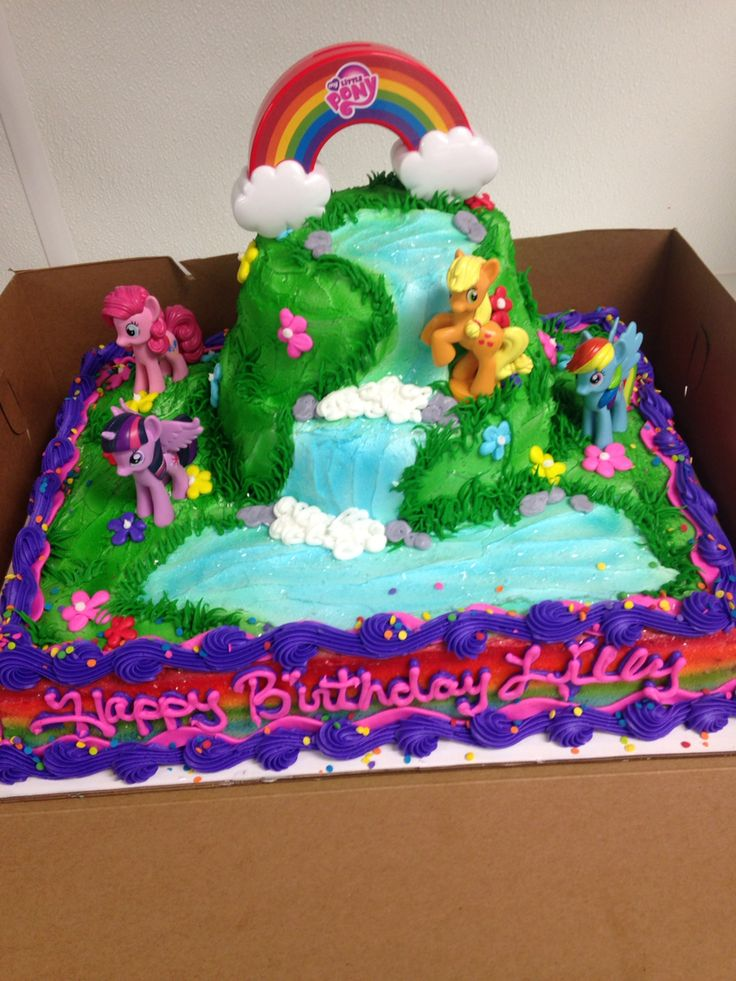 Cake Designs My Little Pony : Tasty My little pony cake recipes on Pinterest My little ...