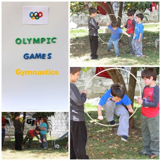 Olympic games for kids.