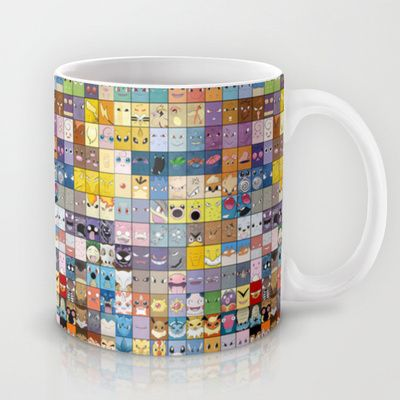 The Pokemon First Generation Mug by Jorden Tually Art - $15.00