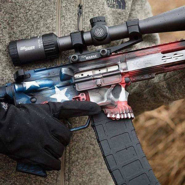 spikes_tactical 'Mercia Jack! #Repost @sharpsbros ・・・ Make America Great Again Jack. Photo and work by @fightingsheepdog.