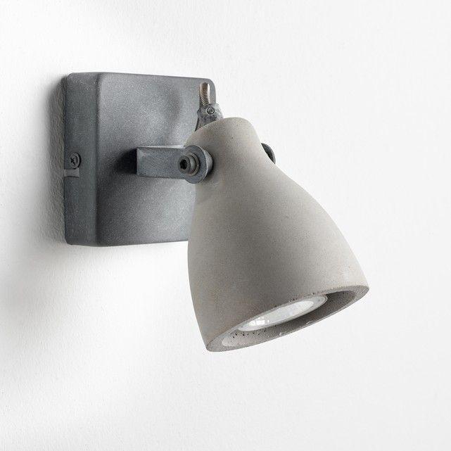 Lampada Da Parete In Beton Cimentes Grigio Calcestruzzo Am Pm La Redoute Illuminazione A Parete Lampada A Muro Lampade