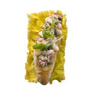Recept - Bruschetta tonijn en witte bonen - Allerhande