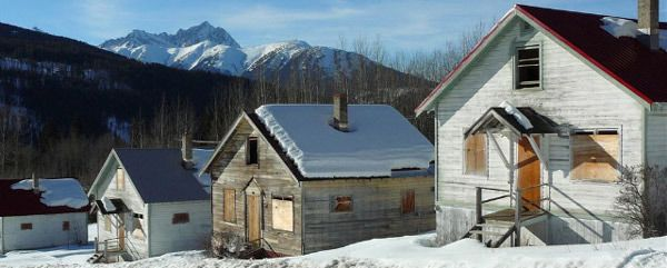 ghost towns, British Columbia, Canada, ghost towns of Canada, Bradian, abandoned. Kitsault
