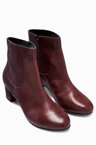 Buy 60'S Block Heel Ankle Boots from the Next UK online shop