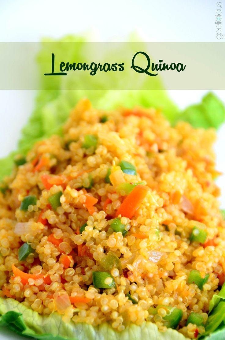 Lemongrass Quinoa