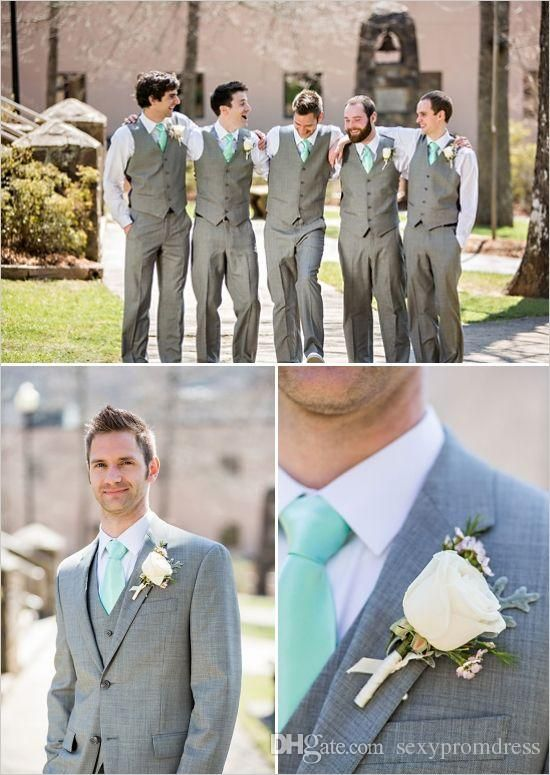 Prom Suits Men Wedding Offer Suits For Groomsmen 2015 Gray Mens Suits Wedding…