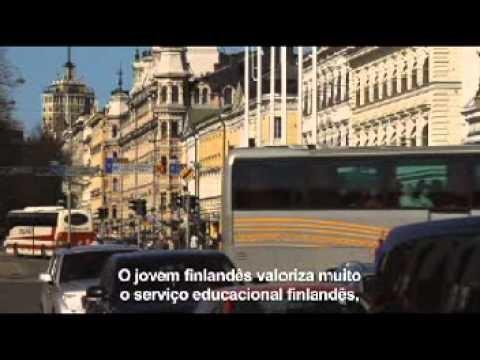Vídeo sobre a educação pública na Finlândia