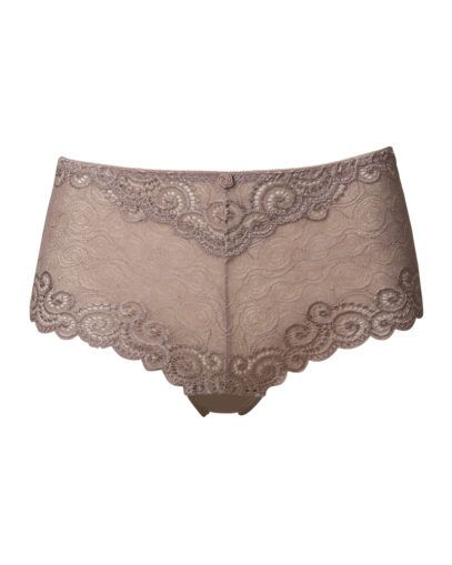 Lace hipsters in Mocca colour from Trofe Sweden