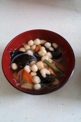 会津の郷土料理 こづゆ by ひげちょろり [クックパッド] 簡単おいしい ...