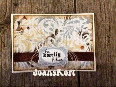 JoansKort: DistressInk