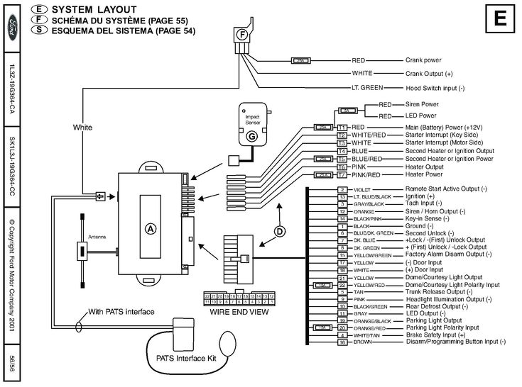 Car Ignition System Wiring Diagram In, Avital Wiring Diagram