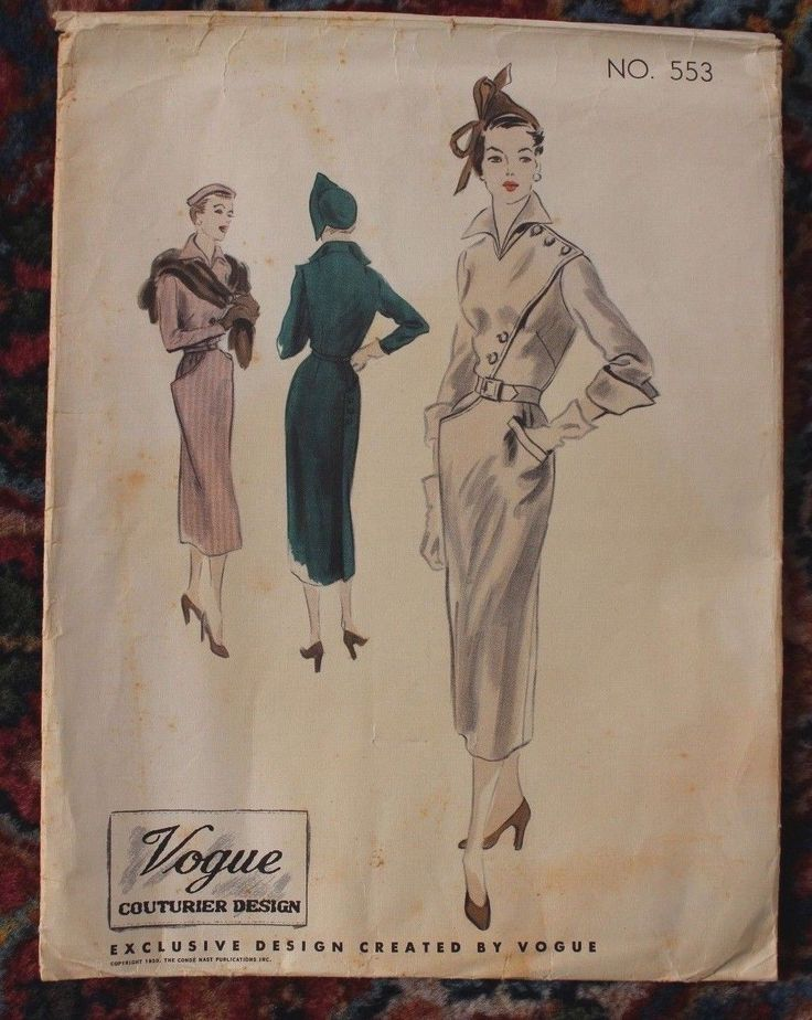 Vogue Couturier Design Dress