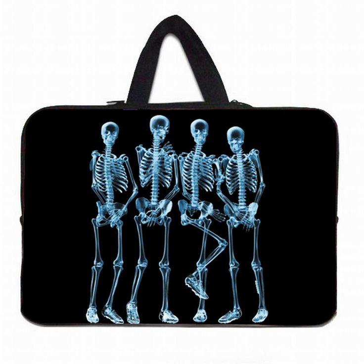 Skulls Notebook Laptop Bag
