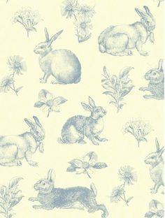 Penna e inchiostro schizzo Bunny coniglio di Handcrafted360