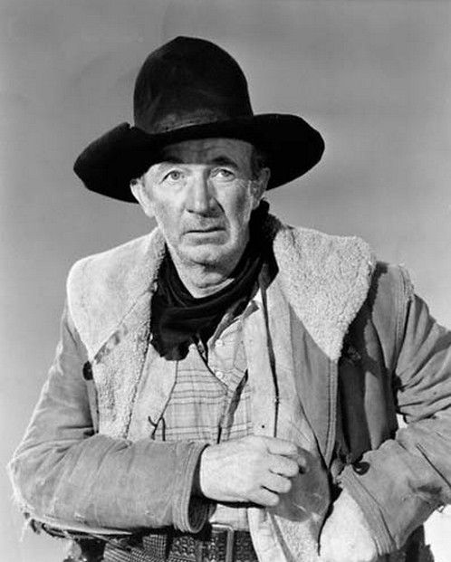 """BRIMSTONE (1949) - U. S. Marshal (Rod Cameron) tries to capture cattle rustlers lead by Brimstone  """"Pop""""' Courteen (Walter Brennan) - Directed by Joseph Kane - Republic Pictures - Publicity Still."""