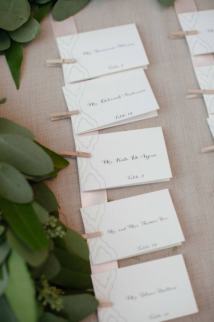 130 best Hospitality & Escort cards images on Pinterest   Wedding ...